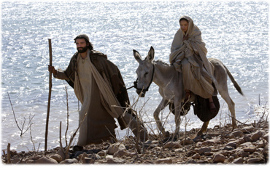 Click to see this truely excellent film on the Nativity story